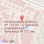 где находится 122 клиническая больница имени Л. Г. Соколова ФМБА России