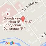 где находится 1 поликлиника 1 городской клинической больницы