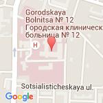 где находится 12 Городская клиническая больница (ОАО ГКБ № 12)