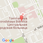 где находится 1 поликлиника Центральной городской больницы
