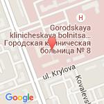 где находится 1 Детская городская клиническая больница