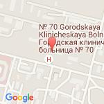 где находится 70 Городская клиническая больница