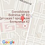 где находится 42 Детская городская больница
