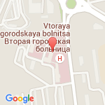 где находится 1 взрослая поликлиника 2 городской больницы