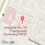 где находится 33 Городская клиническая больница
