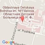 где находится Областная детская клиническая больница имени Н.Ф.Филатова