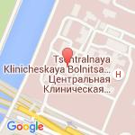 где находится 1 Центральная клиническая больница ОАО РЖД