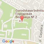 где находится Дзержинская 2 городская больница