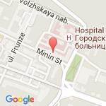 где находится 3 Городская клиническая больница (Нижегородский гериатрический центр)