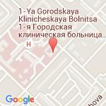 где находится 1 Городская клиническая больница имени Ю.Я. Гордеева