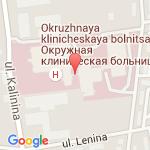 где находится Консультативно-диагностическая поликлиника Окружной клинической больницы