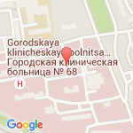 где находится 68 Городская клиническая больница