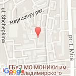 где находится Клиническая больница Центросоюза Российской Федерации
